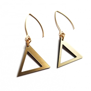 TRIANGLE HANGING GOLD